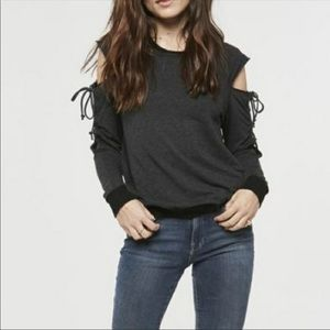 Project Social T Attitude Lace Up Pullover